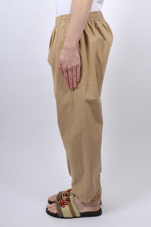 BALLY Cotton Trackpant In Khaki - CNTRBND