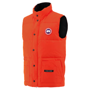 Freestyle Vest In Monarch Orange - CNTRBND