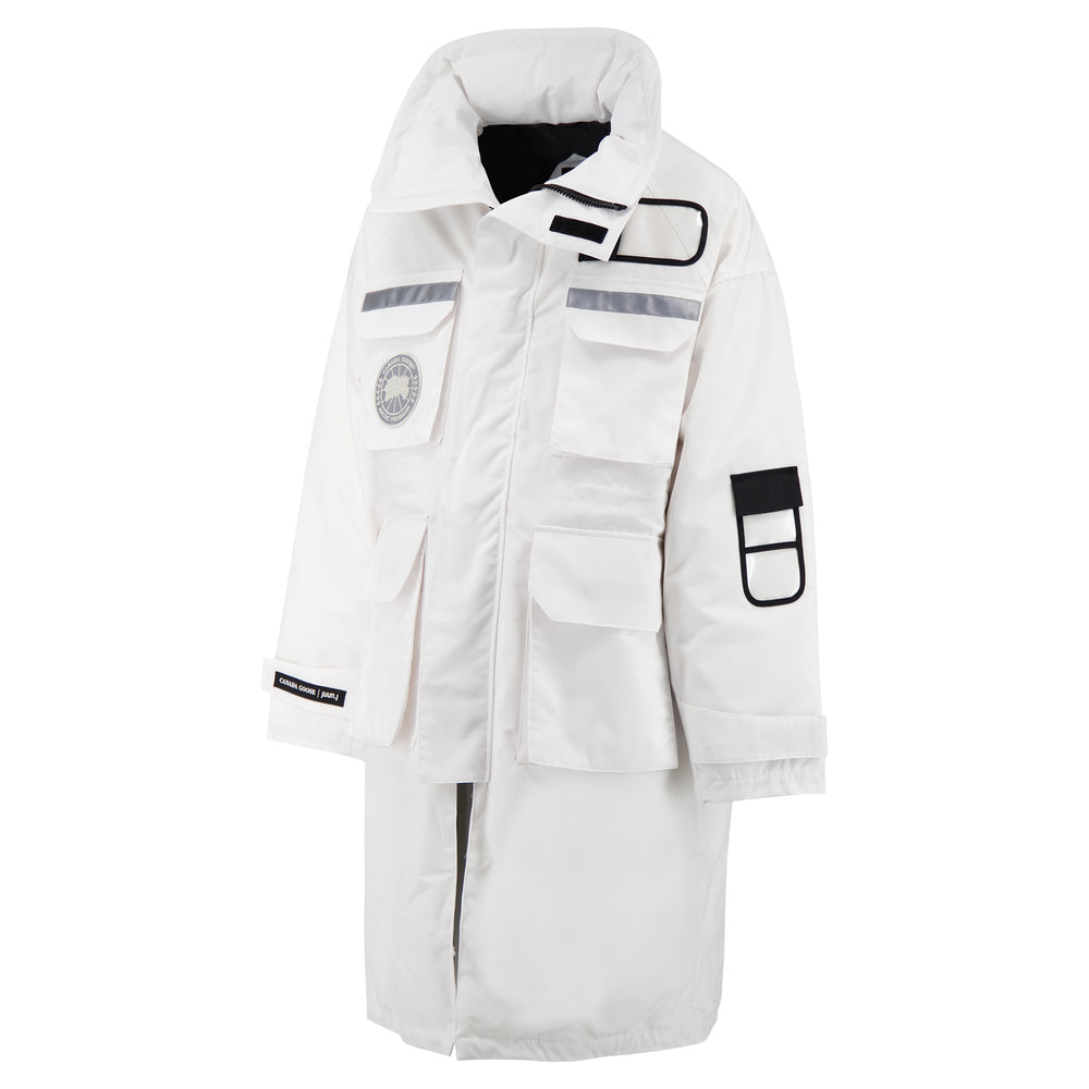 Canada Goose X Juun.J Resolute Parka 3-in-1 In White