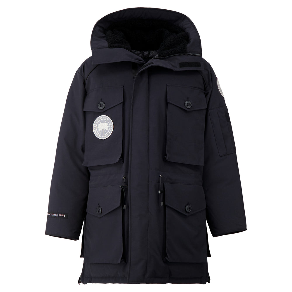 Canada Goose X Juun.J Expedition Parka In Navy