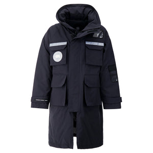 Load image into Gallery viewer, Canada Goose X Juun.J Resolute Parka 3-in-1 In Navy - CNTRBND