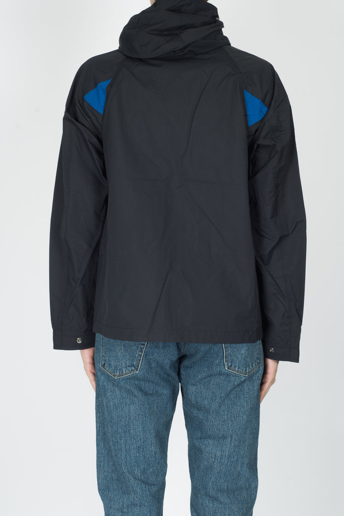 CHILDS Windbreaker Jacket In Black
