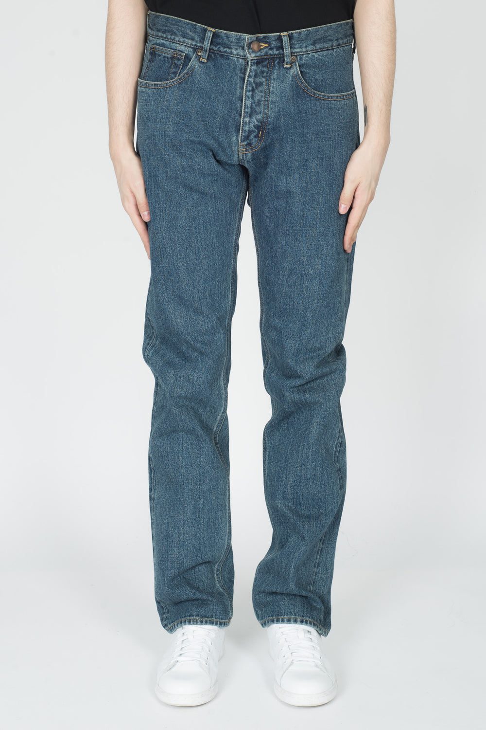 CHILDS Selvage Denim Pant In Indigo Wash