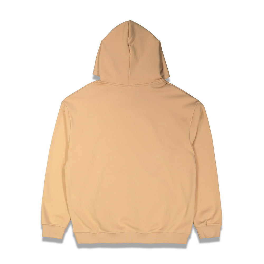 Asprovski X CNTRBND Thermal Velour Hoodie In Cream