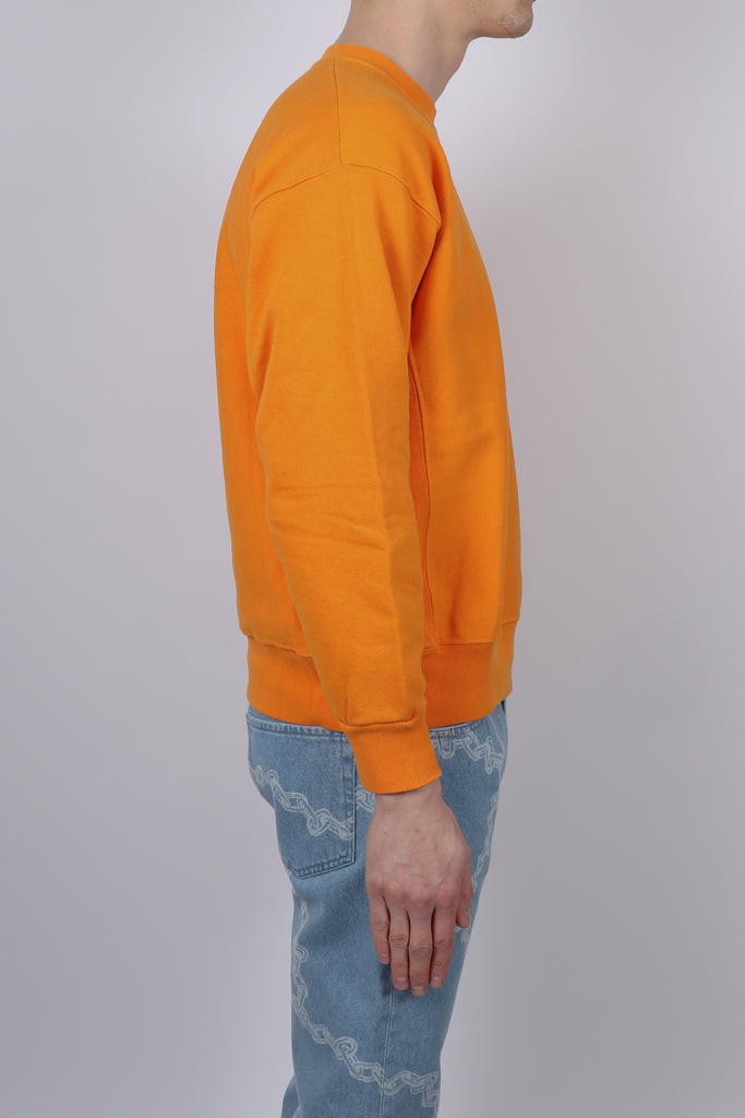 Aries Classic Temple Sweat In Orange