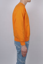 Aries Classic Temple Sweat In Orange - CNTRBND