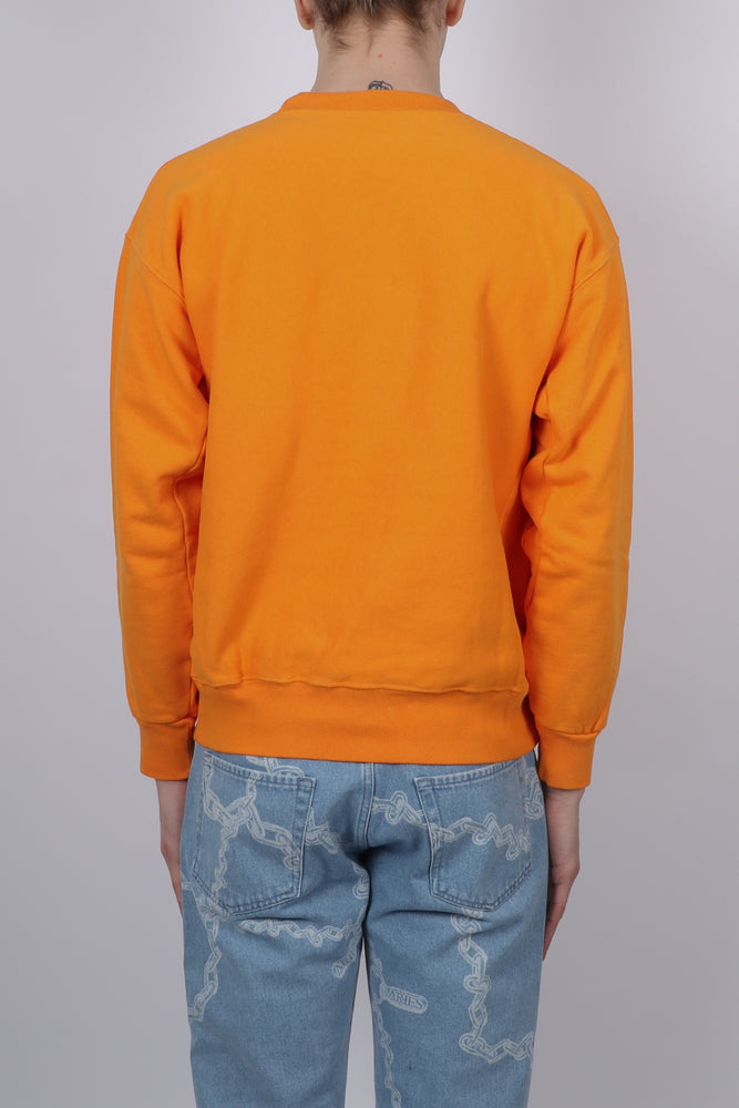 Load image into Gallery viewer, Aries Classic Temple Sweat In Orange - CNTRBND
