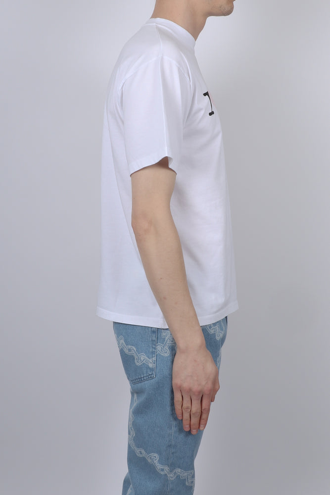 Aries I Heart Aries S/S Tee In White - CNTRBND