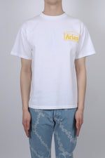 Aries Classic Temple S/S Tee In White