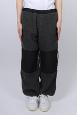 Aries Fleece Track Pants In Grey
