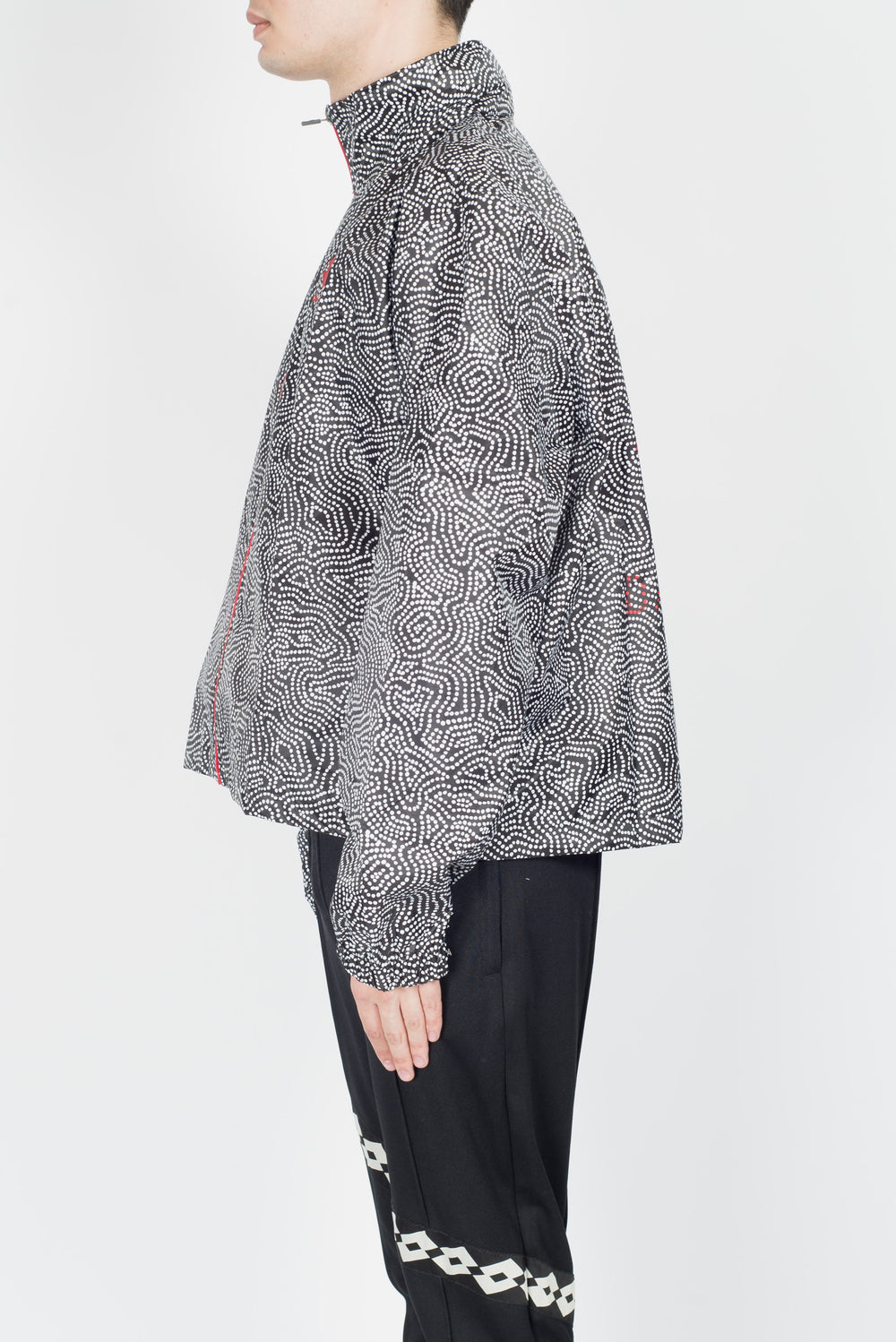 Damir Doma X Lotto Wahidia Jacket In Coal/White
