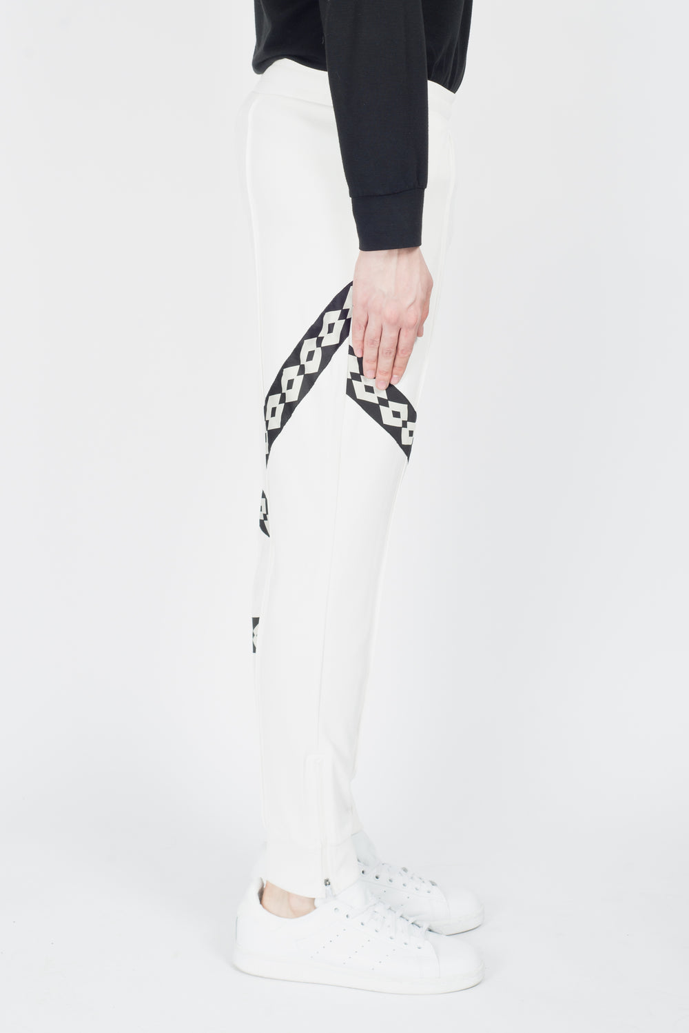 Damir Doma X Lotto Papio Track Pants In Chalk White