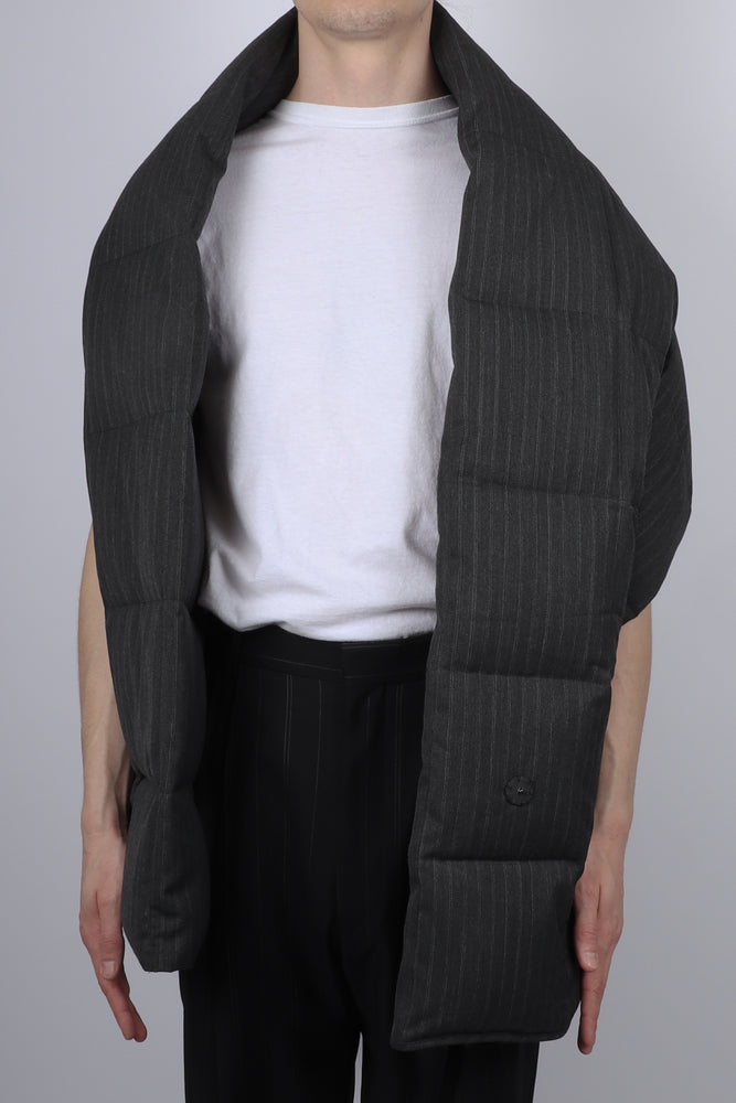 Load image into Gallery viewer, Dries Van Noten Gabe Pin Stripe Vest In Anthracite - CNTRBND