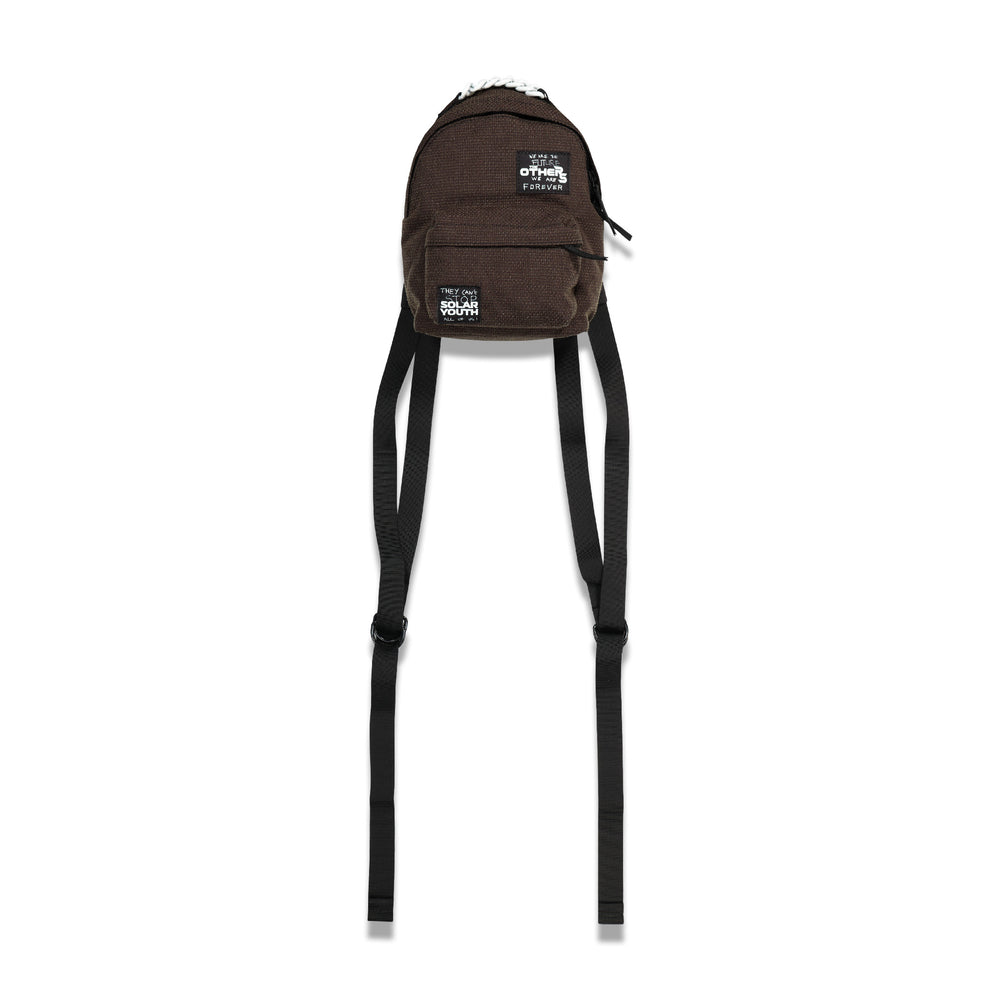 Eastpak RS XS Pak'r Backpack In Dk Brown