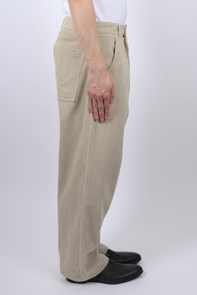 Haider Ackermann Docker Workwear Trousers In Sand