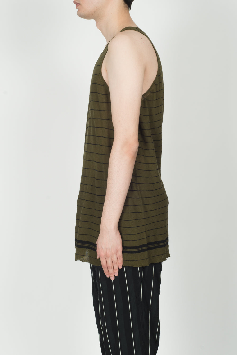 Haider Ackermann Haddad Knitted Tanktop In Ivory