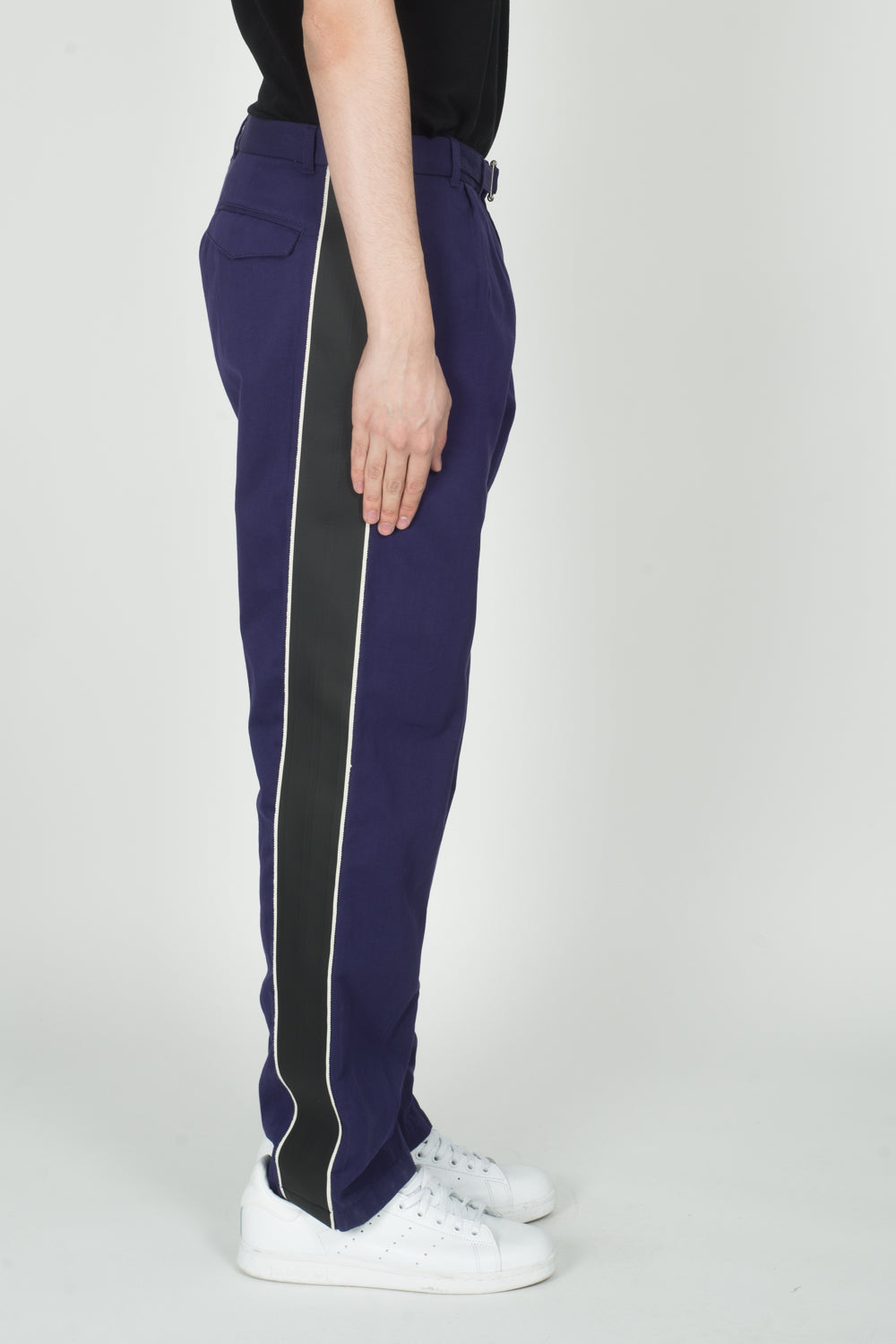 Haider Ackermann Tourmaline Casual Trousers In Violet