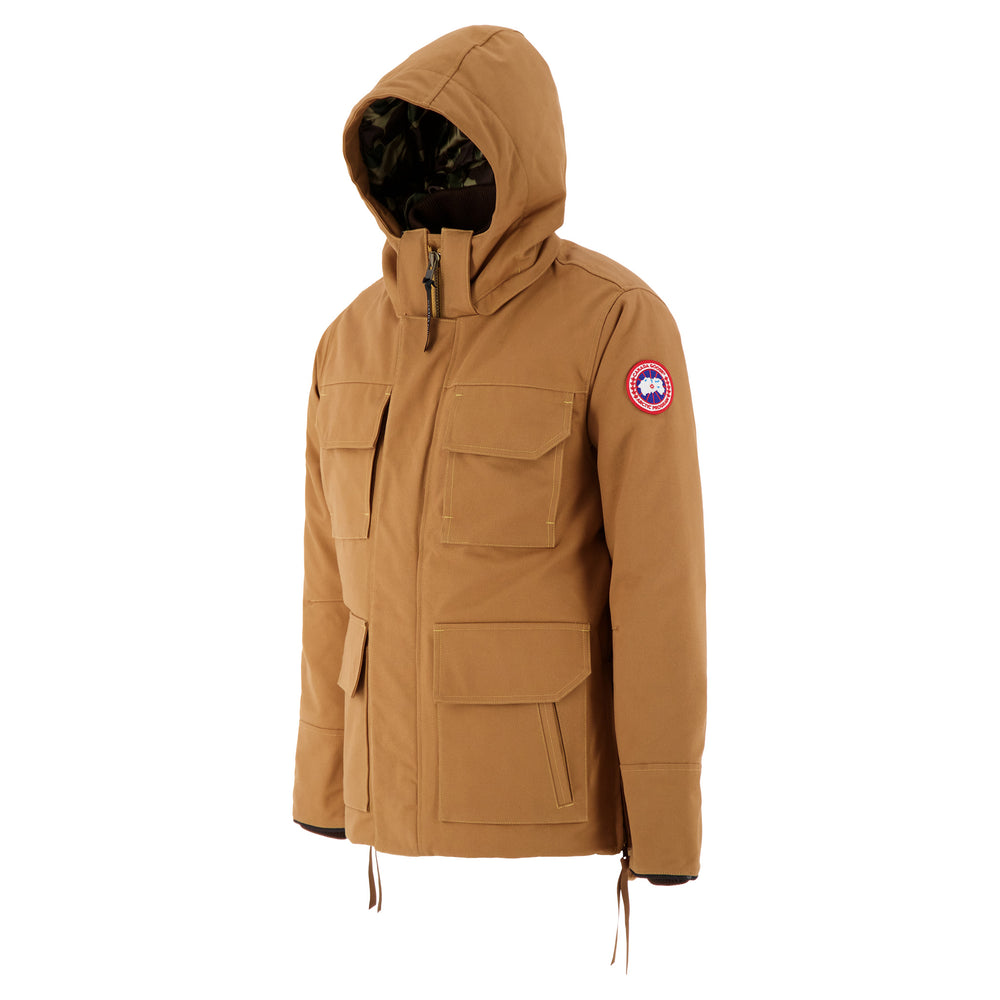 Load image into Gallery viewer, Canada Goose x Junya Watanabe Down Jacket In Brown side