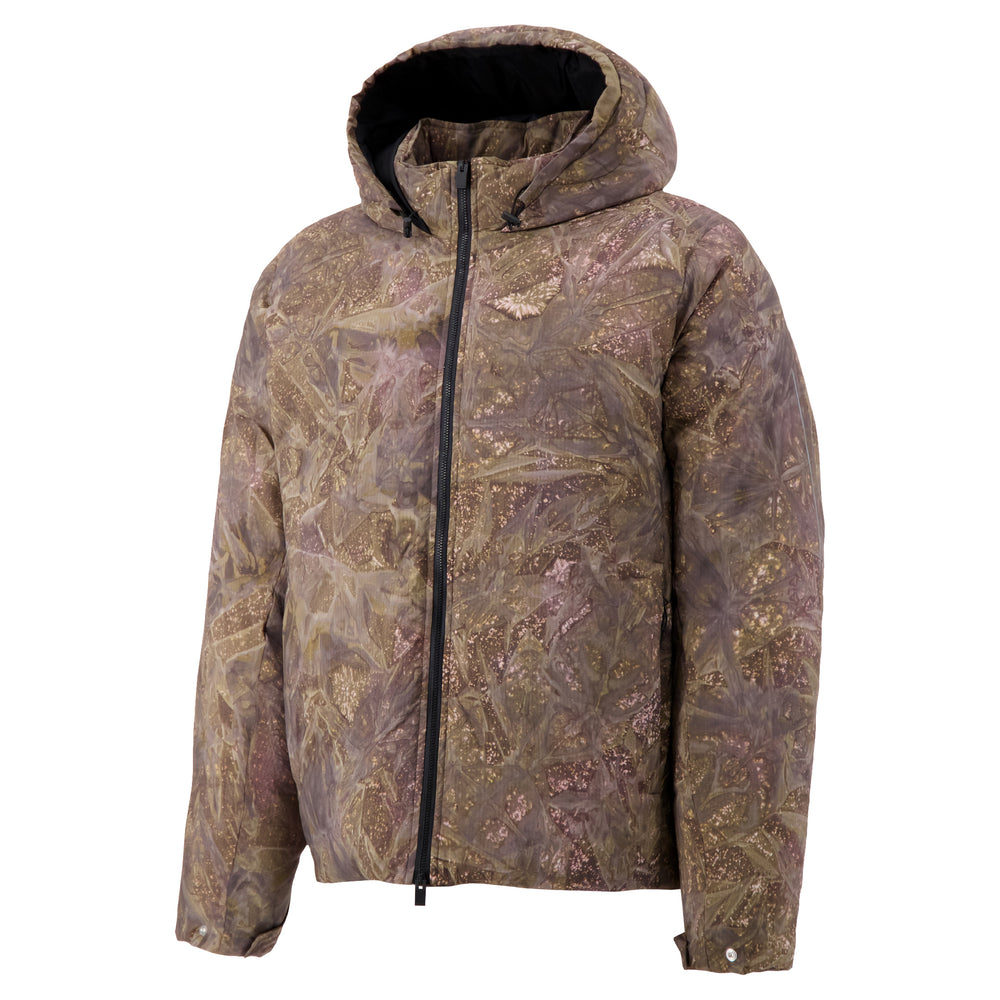 Alyx Camo Hooded Puffer In Camo Green