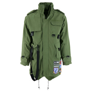 Ader Error X Alpha Industries Hartmann M-65 Parka In Army