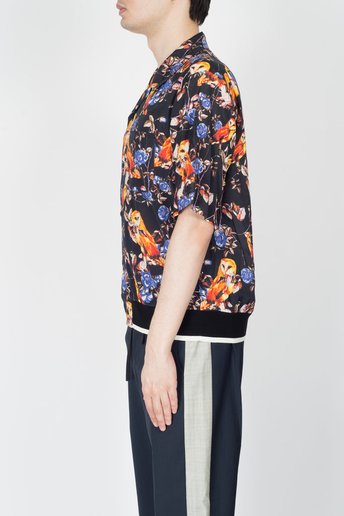 3.1 Phillip Lim S/S Souvenir Top In Midnight