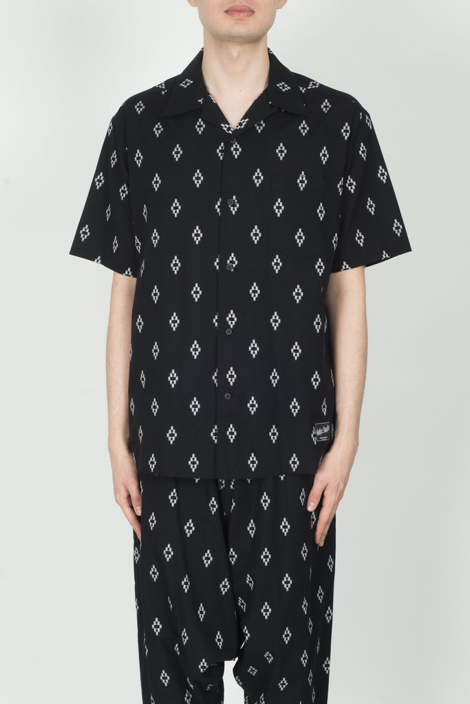 Marcelo Burlon All Over Cross Shirt In Black