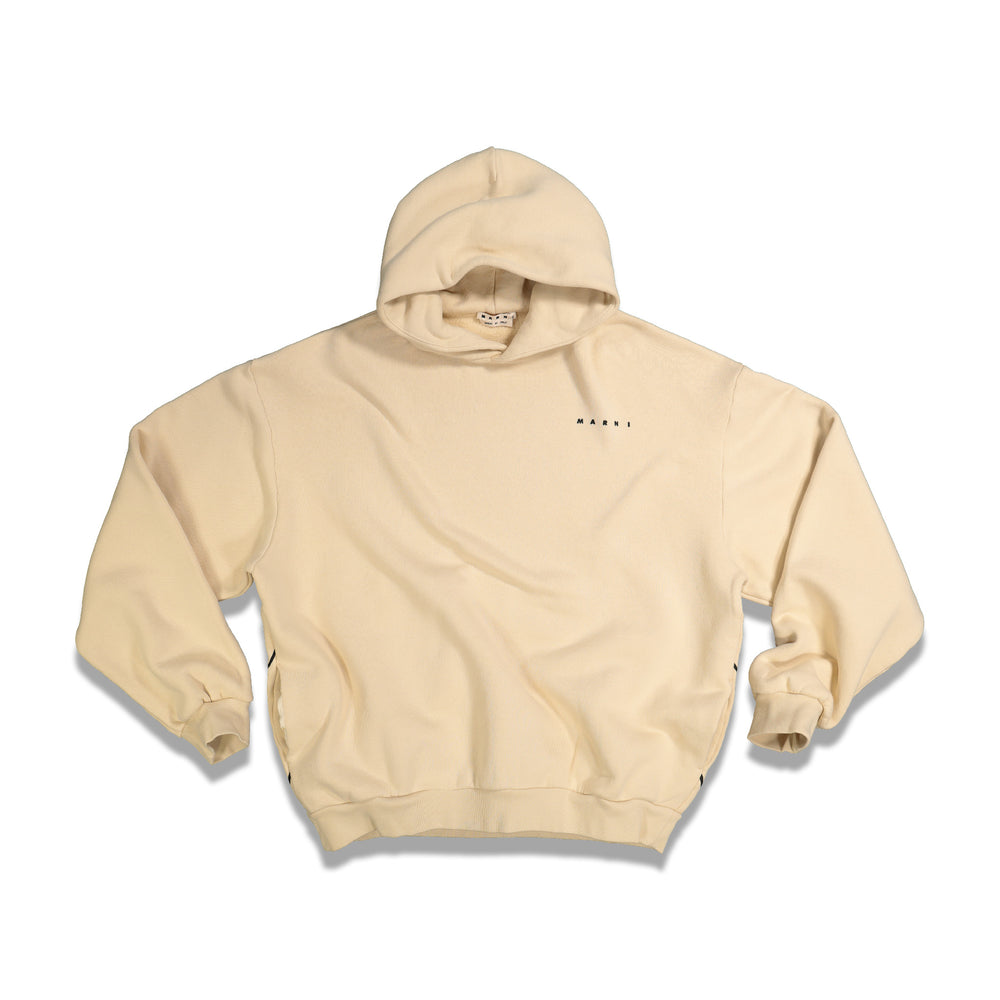 Load image into Gallery viewer, Infinity Heart Hoodie In Ivory