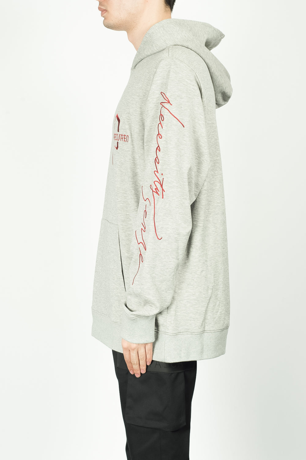 Necessity Sense Pressured Paradise Sense ID Hoodie In Grey