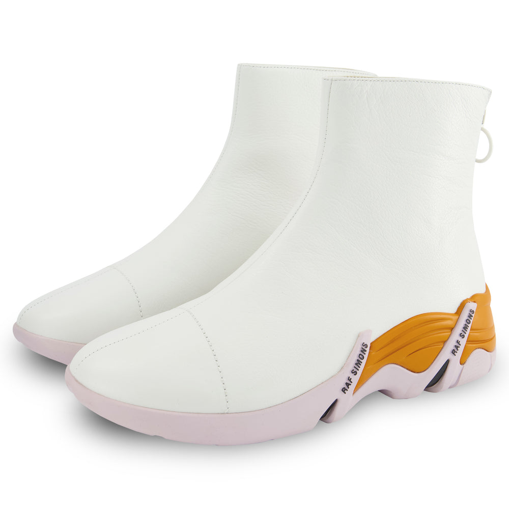 Cylon Boots In White
