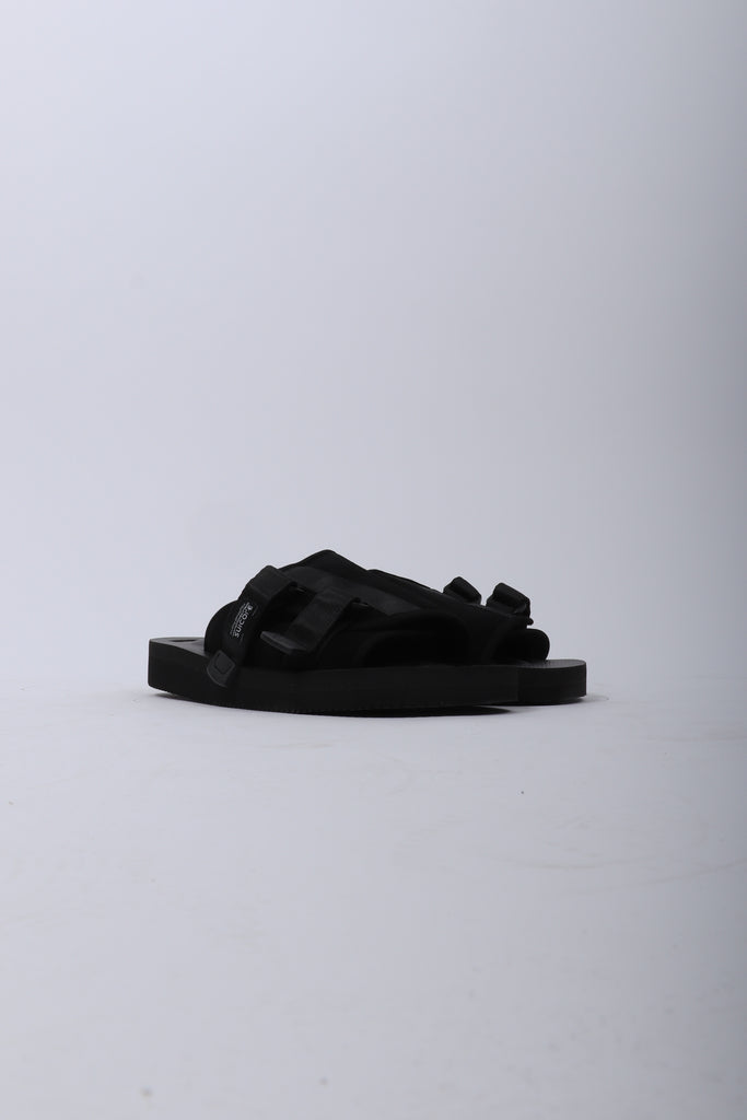 SUICOKE Kaw VS Sandals In Black