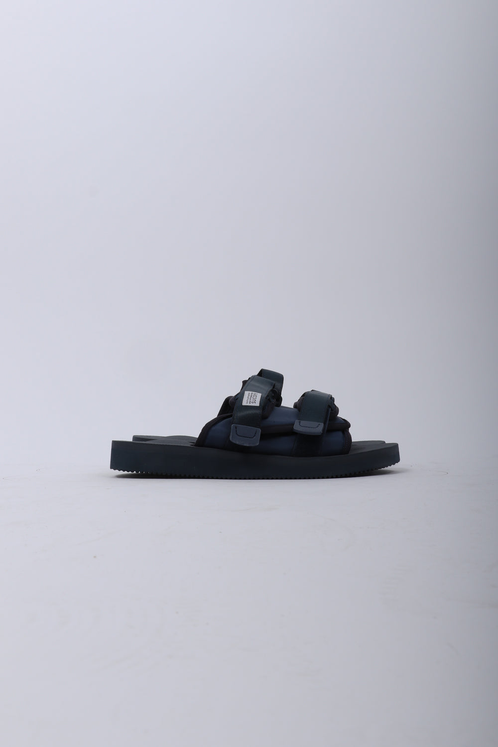 SUICOKE Moto Cab Sandals In Navy