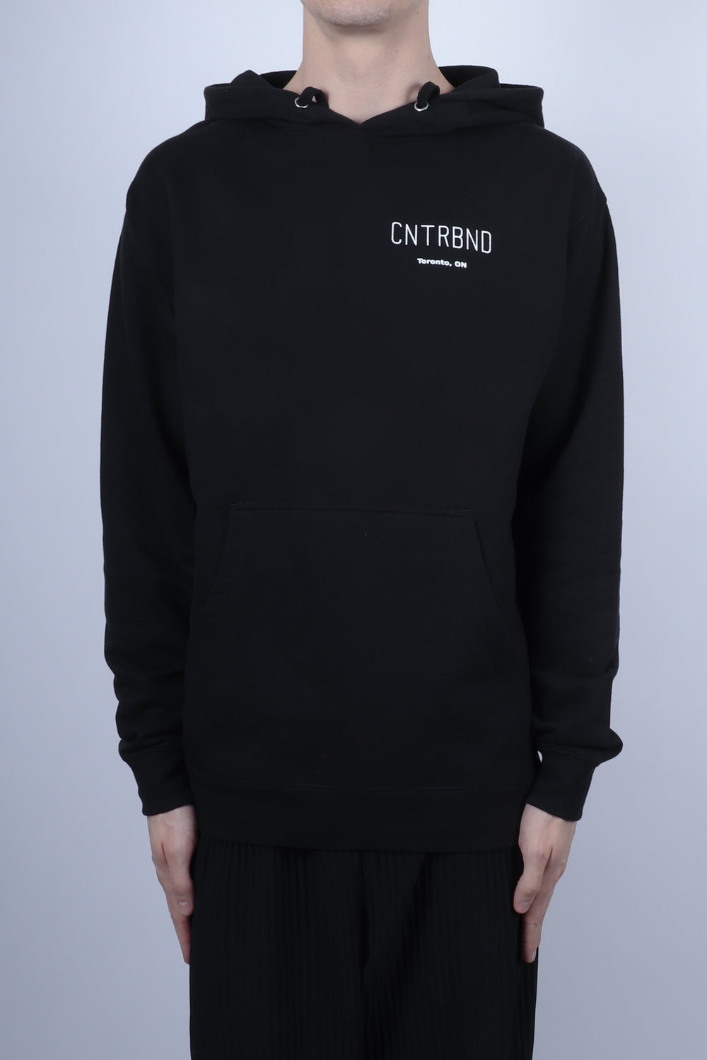 CNTRBND TORONTO City Hoodie In Black