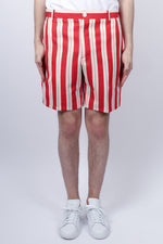Thom Browne Selvedge Placed Unconstructed Short In Stripe - CNTRBND