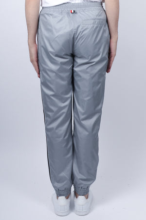 Thom Browne RWB Stripe Ripstop Track Pants In Lt Grey - CNTRBND