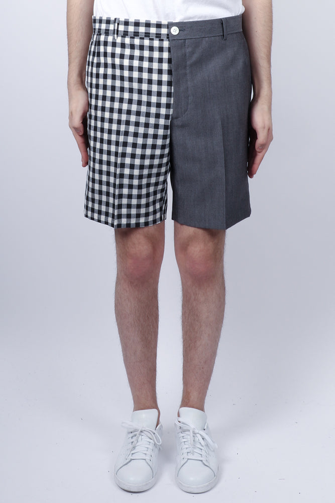 Thom Browne Unconstructed Funmix Short In Navy - CNTRBND