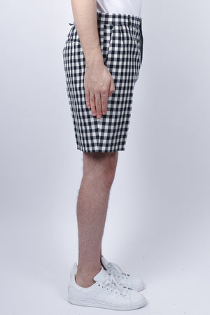 Thom Browne Unconstructed Funmix Short In Navy