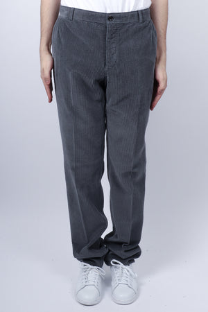 Load image into Gallery viewer, Thom Browne Unconstructed Corduroy Chino In Med Grey