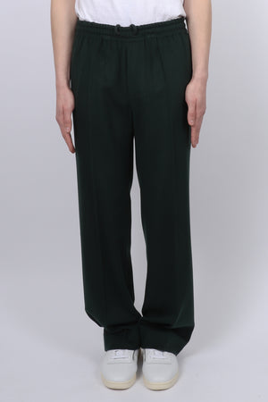UNDERCOVER Straight Leg Cashmere Pant In Dk Green - CNTRBND