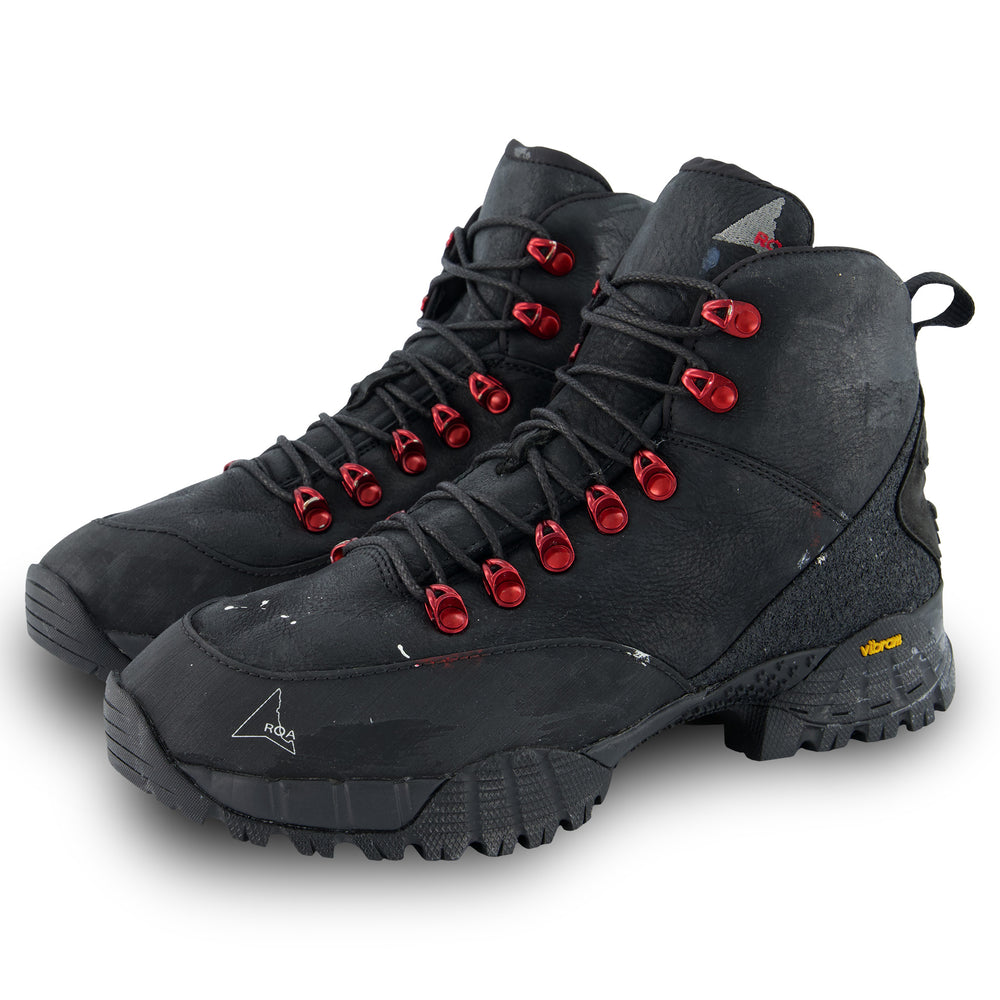 Andreas Hiking Boots In Black Kudu