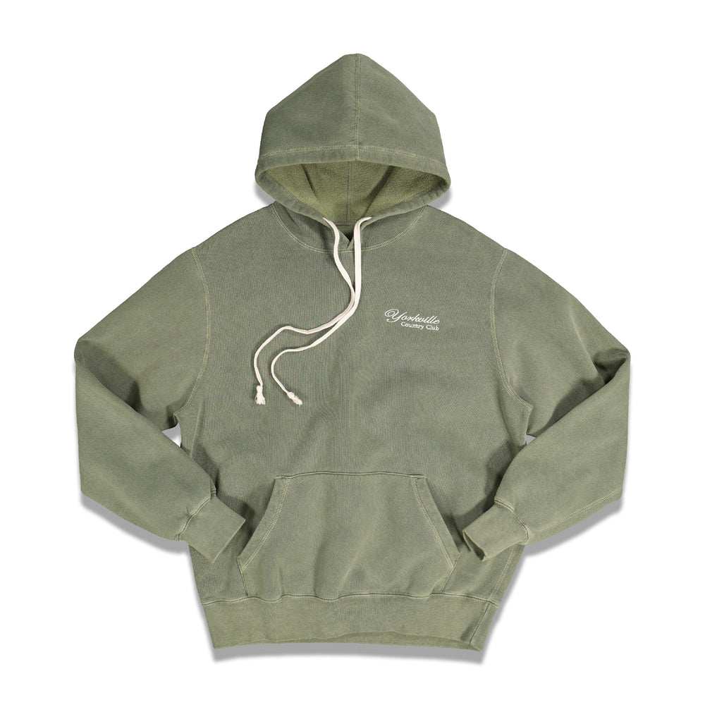 Classic Logo Hoodie In Green - CNTRBND