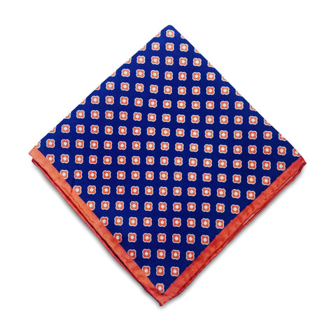 Yellow Silk Pocket Square