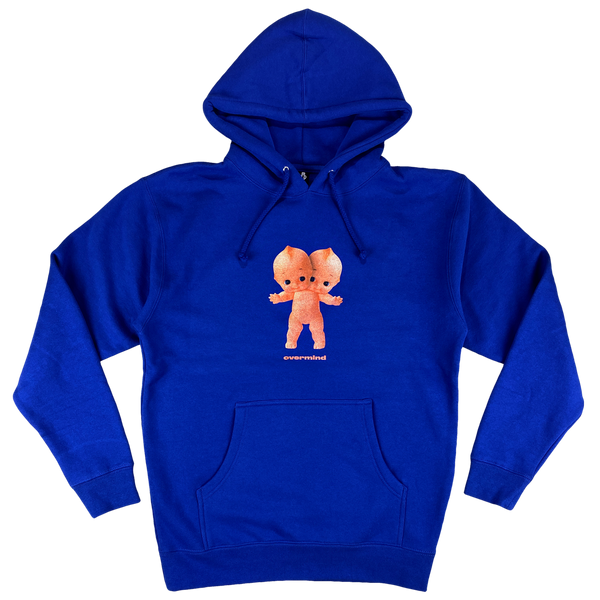 KEWPIE HOODED PULLOVER : ROYAL