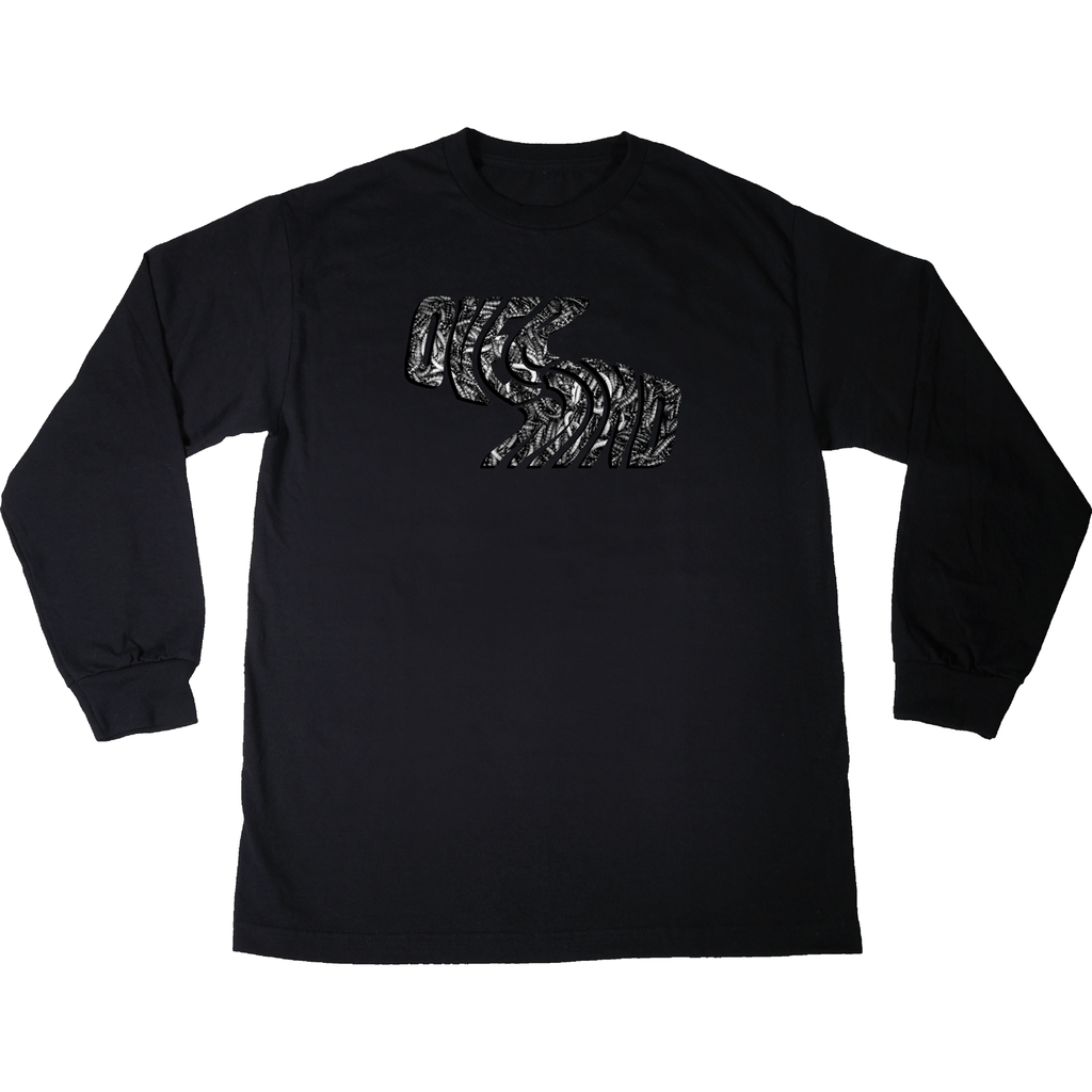 MAGGOT WAVE - L/S BLACK