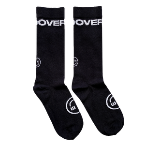 SMILE SOCK : BLACK