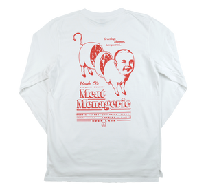 MEAT : L/S WHITE