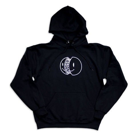 SMILE HOODED PULLOVER
