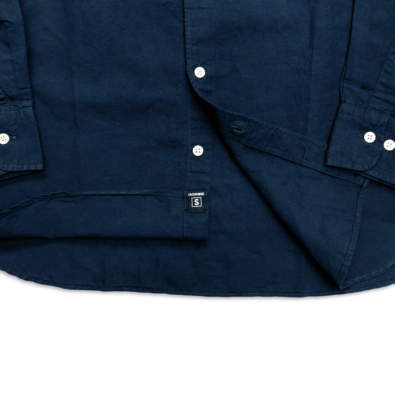 SPACE MONK SHIRT : NAVY