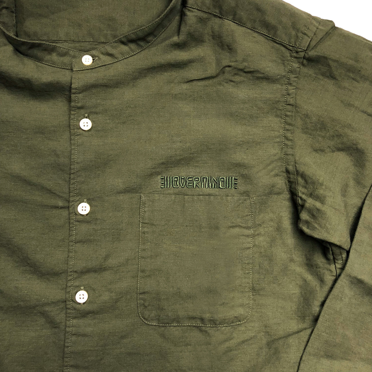SPACE MONK SHIRT : OLIVE