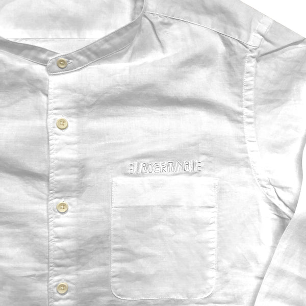 SPACE MONK SHIRT : WHITE