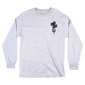 THE NAIL LONG SLEEVE - HEATHER